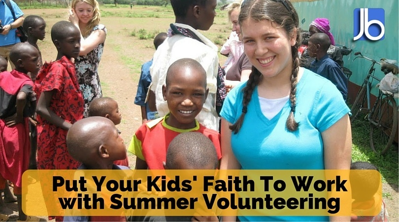Summer volunteering