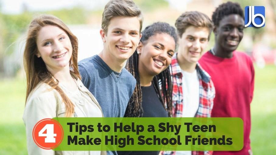 Tips to Help a Shy Teen Make High School Friends