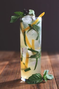 Buddha's Hand and Thai Basil Fizz