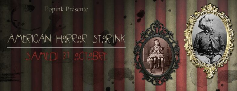 Soiree-Halloween-American Horror-Storink-chez-Popink Tattoo