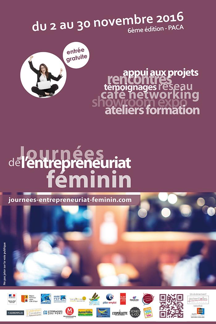 Journées-de-l'entrepreneuriat Féminin-marseille-agence-jones-and-co-partenaire-2016