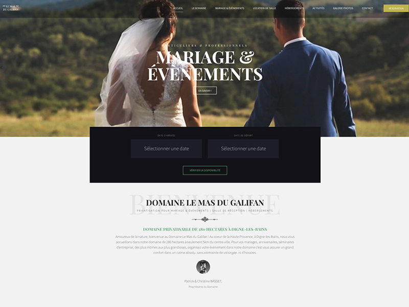 agence-communication-marseille-realisation-site-internet-domaine-mariage-gite-salle-reception-jones-and-co