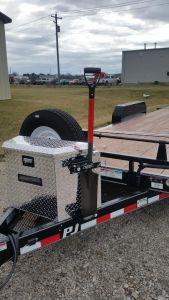 shovel tool holder - shovels, brooms, rake, rack organizer. good for construction & landscaping storage