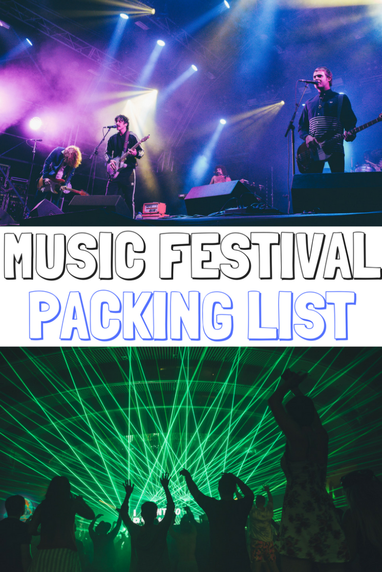 MUSIC FESTIVAL CAMPING LIST