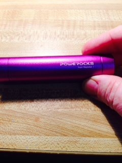 Powerocks carries two charges for my iPhone 5