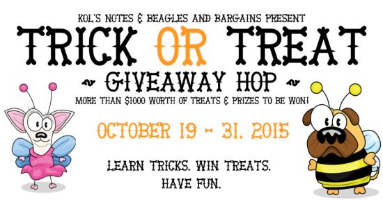 Trick or Treat blog hop giveaway!