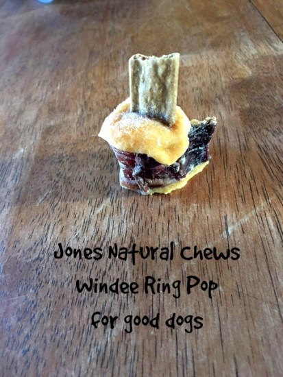 Windee Ring Pops for Dogs, from Jones Natural Chews