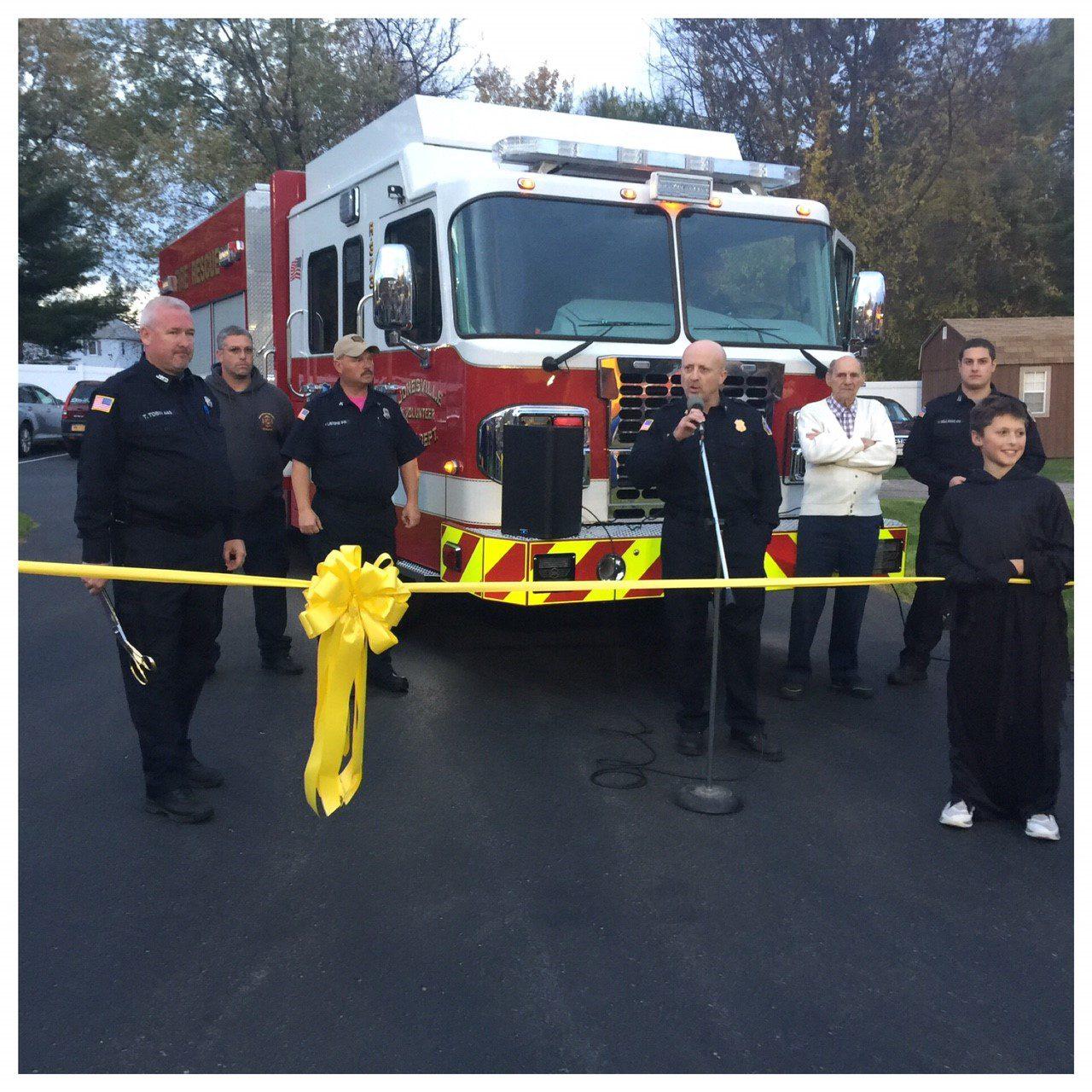 Yellow Ribbon Ceremony – 2017 SVI Heavy Rescue Truck