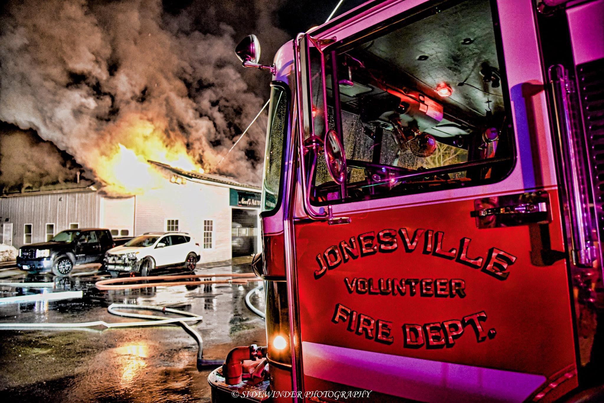 Structure Fire Photos
