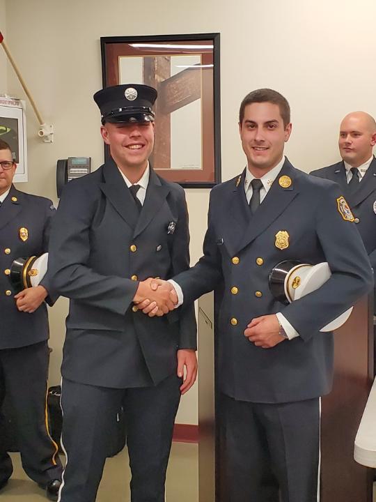 Congratulations FF Aidan Ritter