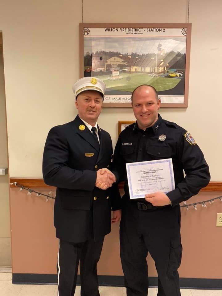 FF Brad Bowers – Firefighter I Graduate