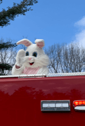 Happy Easter from Jonesville Fire Dept.