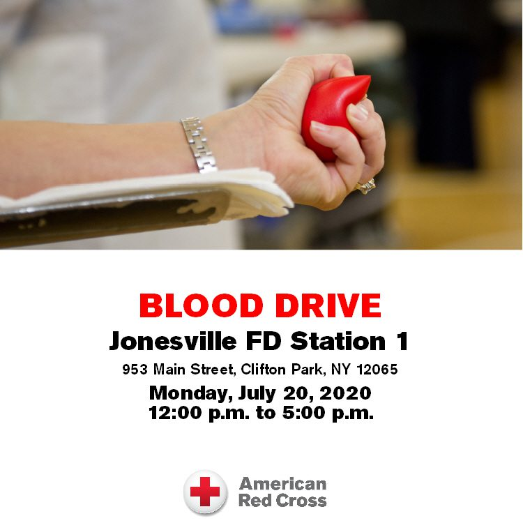 Blood Drive Scheduled for July 20th