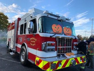Trunk or Treat event at Commons