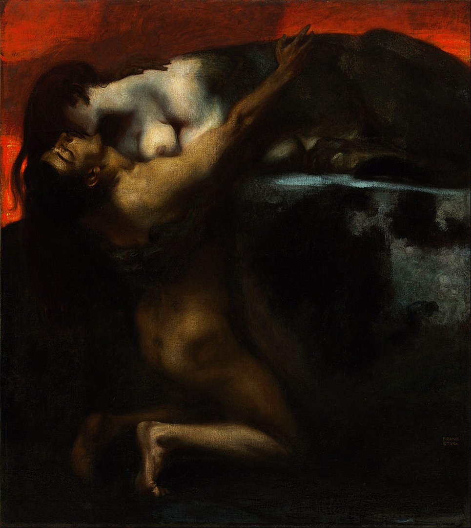 915px-Franz_von_Stuck_-_The_Kiss_of_the_Sphinx_ 1895-_Google_Art_Project copy To Post