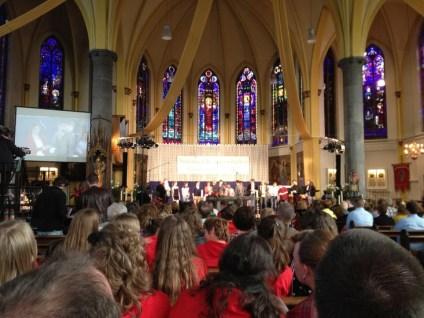 Kerk tijdens viering