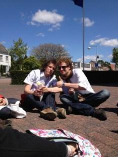 Johan en Martijn