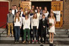 Groepsfoto Vormselviering Dordrecht
