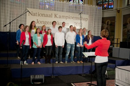 Het koor tijdens de uitvoering op Rijsbergen 2013.