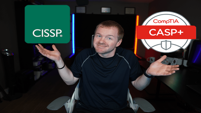 CISSP vs CASP+: Which is better for your career?