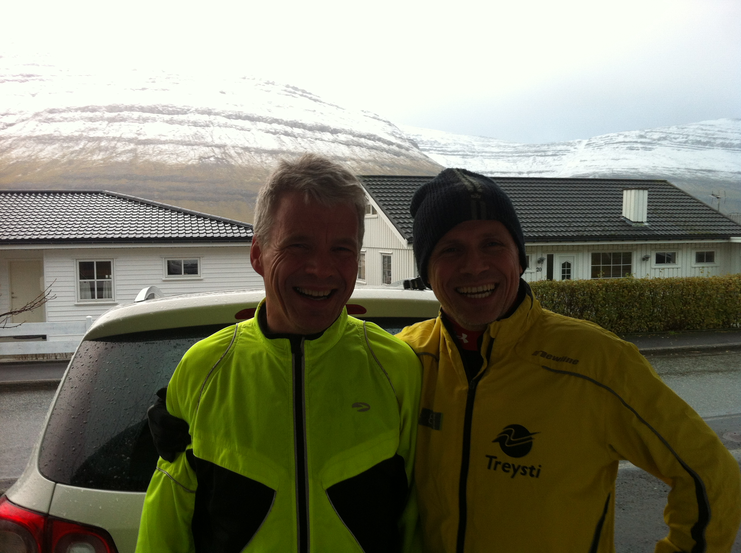 Pól Sundskarð og Jonhard Larsen