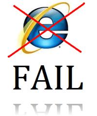 IE Fail