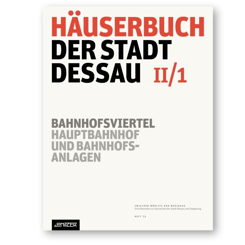 Titel »Häuserbuch der Stadt Dessau II/1 …«