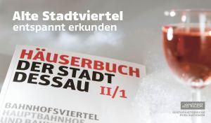 Alte Stadtviertel entspannt erkunden – Kulturhistorische Publikationen vom Jonitzer Verlag, Dessau