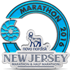 badge nj marathon