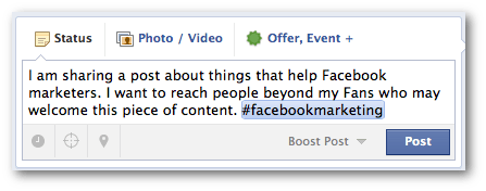 facebook hashtags value Facebook Hashtags for Brands: What You Need to Know