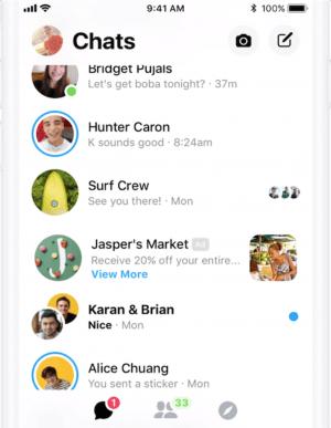 Messenger Inbox