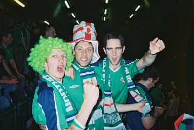 The night we beat the England at Windsor Park.