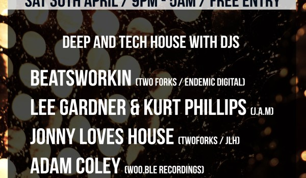 BEATSWORKIN VS JAM @ CATCH, SHOREDITCH