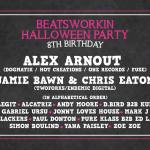 Beatsworkin Halloween Party, Barcelona