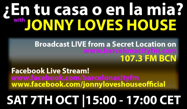 LIVE BROADCAST ON BARCELONA CIY FM