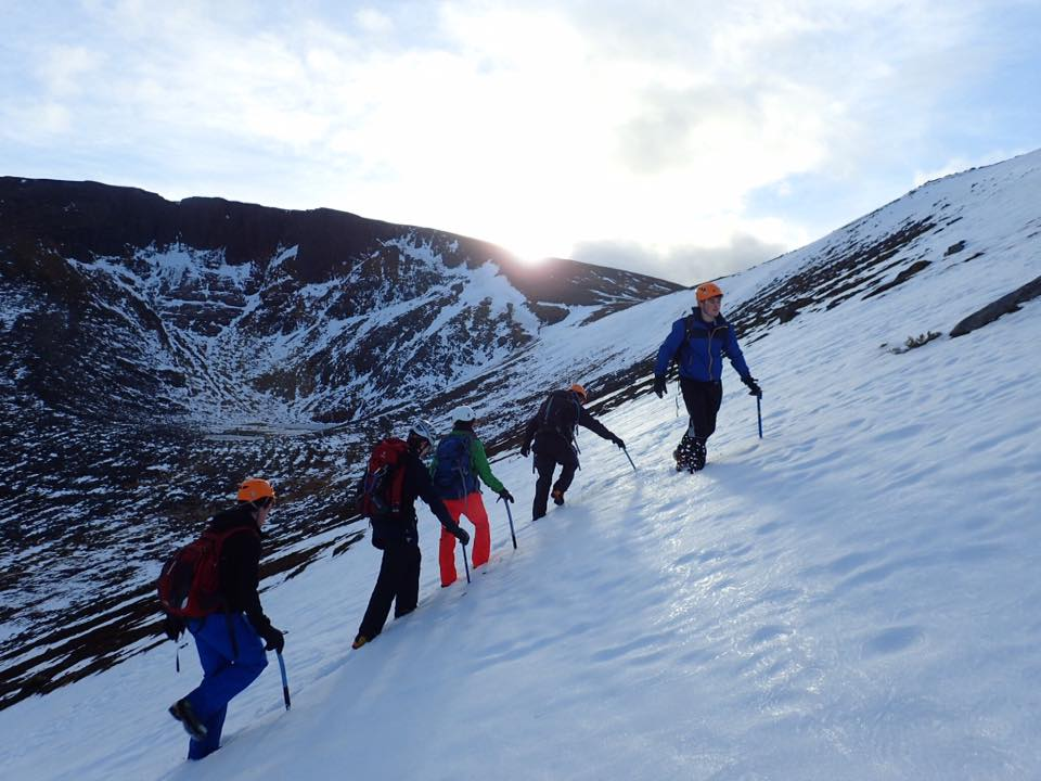 Winter mountaineering