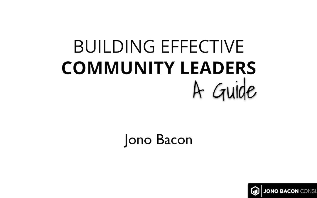 Video: Building Community Leaders: A Guide