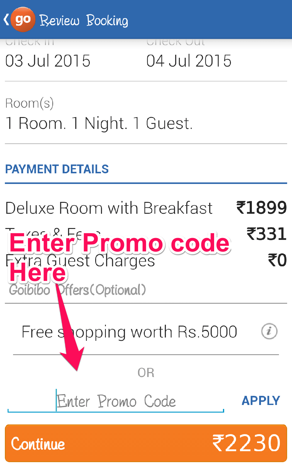 25 Off Hotel Coupon