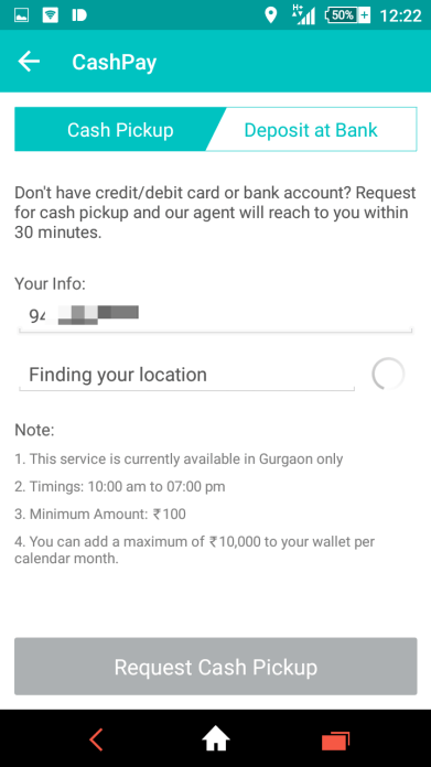 mobikwik cashpay how to
