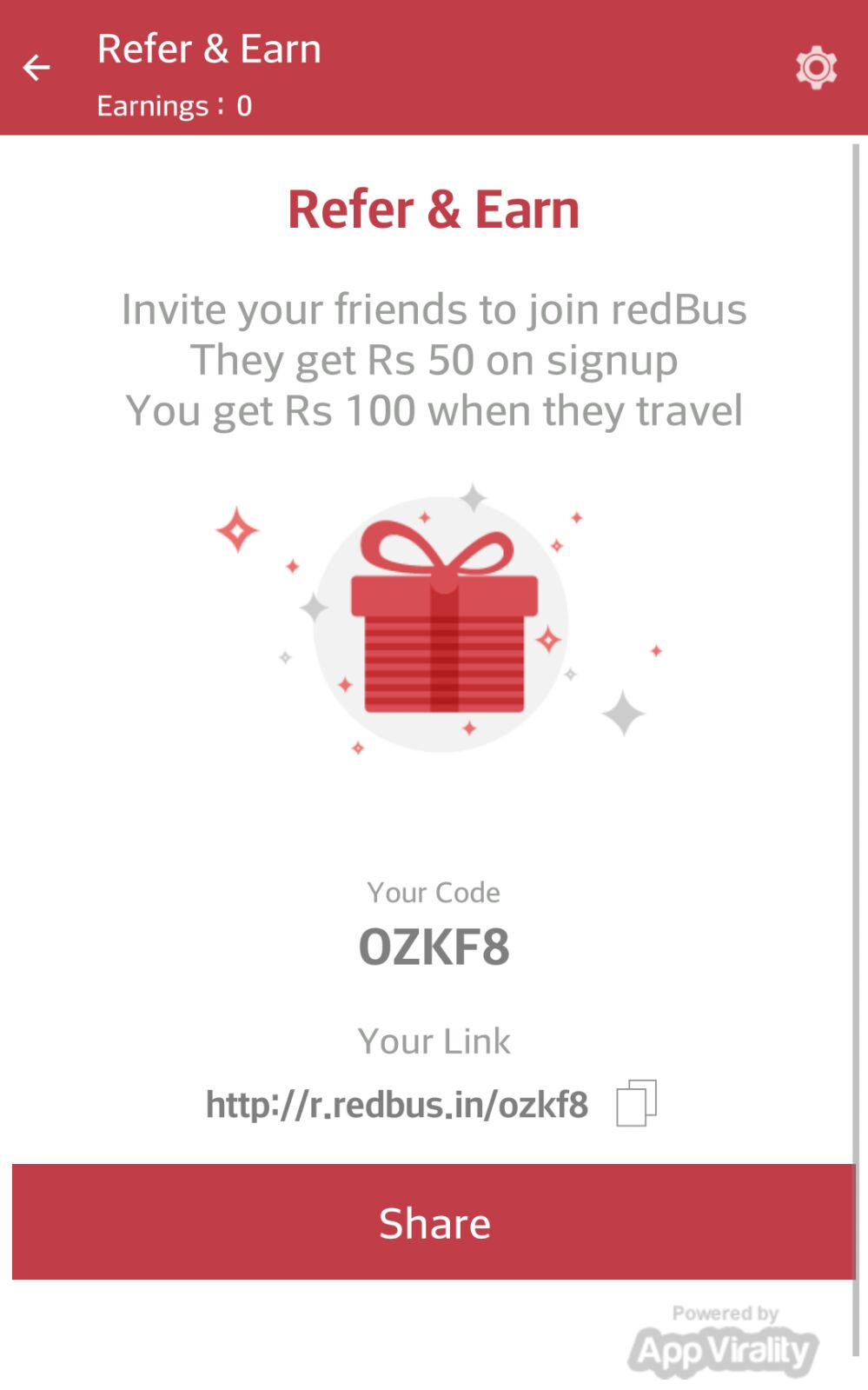 Log on to Coupon Raja to know about the latest RedBus deals and RedBus offers. Type the word 'RedBus' in the search menu and check out the various RedBus coupons and RedBus offers available. Hurry up and grab the most money saving RedBus deals on offer/5(K).