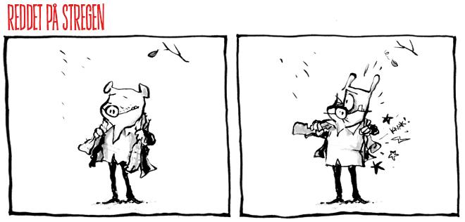 Efterår sol webcomic efterårssol
