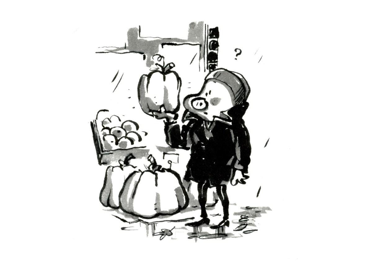 Inktober 2019 Pumpkin græskar Inktoberstory improtegneserie inktoberhistorie