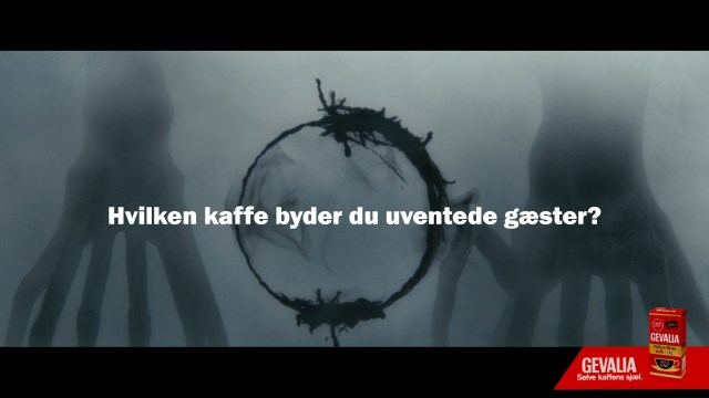 the arrival kaffe coffee stains kaffepletter alien rumvæsen heptapods Gevalia uventede gæster