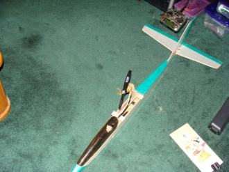 Great Planes Spirit 100 Fuselage with Electric Motor Conversion
