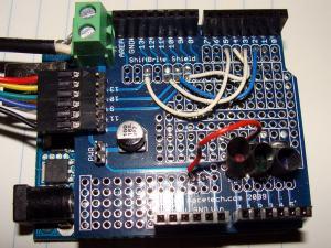 Modified ShiftBrite Shield