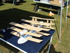 neat multi wing model airplane