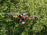 octocopter flight