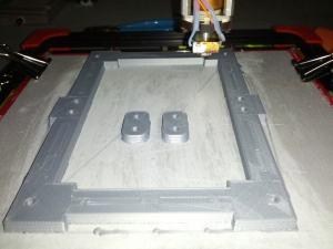 ABS Y-Carriage 3D Print for OB 1.4 DIY RepRap Style 3D  Printer