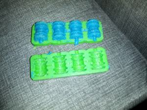 First Molded Oogoo Parts