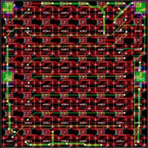 8x8-WS2812b-PCB